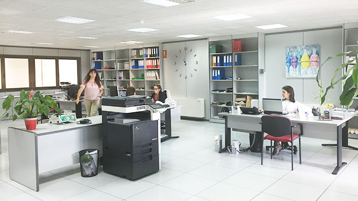 Oficinas de Laboratorios Osila