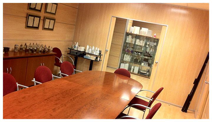 La sala de reuniones en el Edificio Vanguard