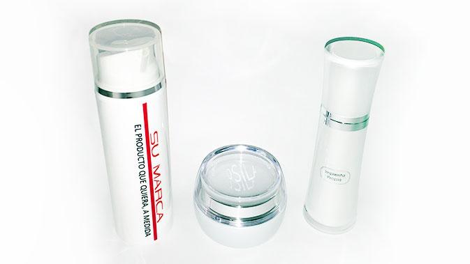 Muestras en envases etiquetados